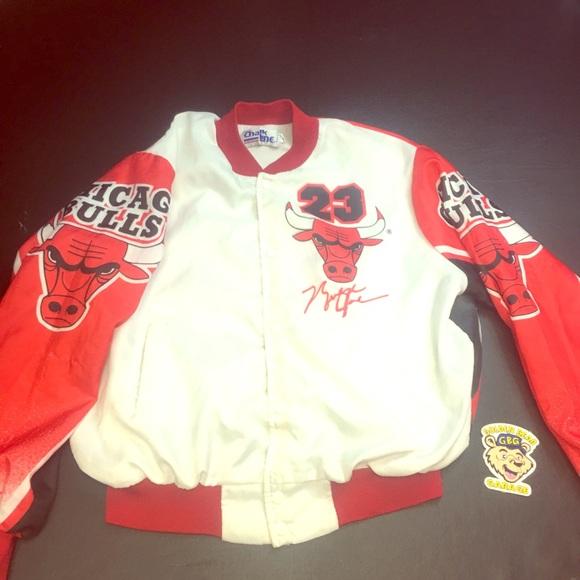 9ff5faf027c Vintage Jackets & Coats   Michael Jordan Chalkline Fanimation Jacket ...